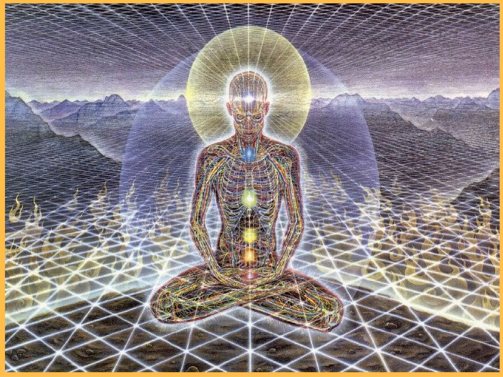Soul Focused healing /Alex Grey Image